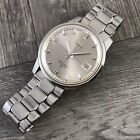 Vintage Men's Stainless Steel 1960's Seiko Sportsmatic Automatic Date Running