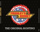 FREHLEY'S COMET THE ORIGINAL SIGHTING RARE LIVE 4CD USA 1984/85 LTD INCL.STICKER