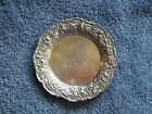 SON STERLING SILVER DISH/COASTER/BUTTER PAT~MODEL #17F~MONOGRAM EAA~39G