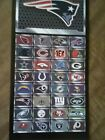 nfl metal plate sticker pick your team