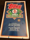 2003 Topps Series 1 Factory Sealed Hobby Box