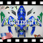 For Honda CBR600RR 2005-2006 Fairing Bodywork ABS Movistar Blue Green 1b1 XA