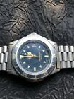 VINTAGE TAG HEUER 37MM PROFESSIONAL 200M MEN'S STAINLESS 972.606 - RUNNING!