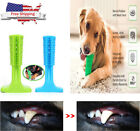 Dog Toothbrush Pet Brushing Stick Teeth Cleaning Chew Toy For Pet Dogs Oralcare