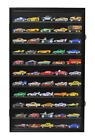 Hot Wheels 164  1 43 Scale Minifigure Display Case Wall Cabinet HW11 BL