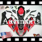 For Suzuki GSX-R1000 2005-2006 Fairing Bodywork ABS Plastic Red Black 2e5 PA