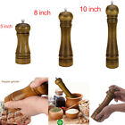 Salt and Pepper Grinder Hand Movement Oak Wood Pepper Mill Kitchen Cooking Tools