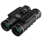 12x26 Mini Binoculars Clear Optical Lens Ultra Vision Portable BLACK