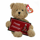 Ty Beanie Baby Happy Holidays - MWMT (Bear Greetings Collection 2004)