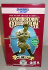 "Lou Gehrig Yankee Starting Lineup Cooperstown Collection 12"" Poseable Figure NIB"