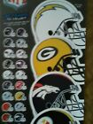 NFL Helmet sticker pick your team all teams available