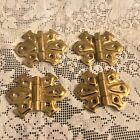 Vintage Butterfly Hinges Never Used Brass