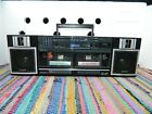 Sony CFS-W360 TranSound Double Cassette Stereo Boombox Radio