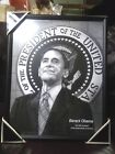 Barack Obama The 44th President of the United States black & White Picture