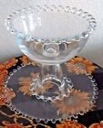Glass Candy Serving Dish 2 piece set Clear Home Decor Kitchen Dining