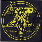 VENOM Welcome to Hell FULLY SIGNED Cronos Mantas & Abaddon Black Metal AUTOGRAPH