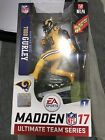 "2016 McFarlane Series 1 Madden 17 Todd Gurley Variant ""Color Rush"" Yellow jersey"