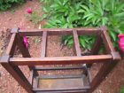 Antique Early Gustav Stickley 3 Section Umbrella Stand 1902-03  w4796