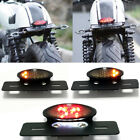 Cafe Racer Bobber ATV Motorcycle LED Brake Tail Lights & Turn Signal Indicators