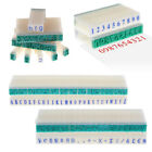 English Alphabet Letters Numbers Rubber Stamp Free Combination Diy Crafts 1 Set