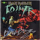 IRON MAIDEN Ed Hunter PAUL DI'ANNO Nicko McBrain Stratton Blaze Autograph SIGNED