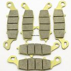 Front Rear Brake Pads For Kawasaki VN 1700 Classic Tourer 2009 2010 2011 2012 14