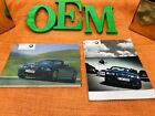 2006 2005 BMW M3 CONVERTIBLE OWNERS MANUAL + SMG INFO + UNUSED SERVICE BK (MINT)