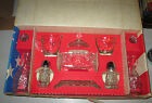 Anchor Hocking Early American Prescut EAPC 11 Pce Table Service Set in BOX