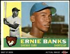 Ernie Banks Cards, Rookie Card and Autographed Memorabilia Guide 11