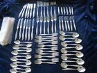 Young Love Oneida Sterling Silver Flatware set for 12 Service 72 pieces