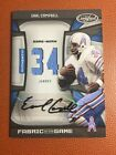 Earl Campbell Auto Patch Limited To Only 25Houston Oilers Hall Of Fame Free Ship