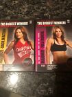 Lot Of 2 Jillian Michaels The Biggest Winner Maximize Workout DVDs Loser Weight