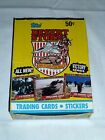 1991 Topps DESERT STORM Victory Series BOX OF (36) PACKS + STICKERS