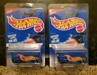 Lot of 2 Hot Wheels VW Drag Bus 1996 First Editions 14912 New in Package 1995