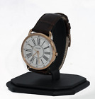 Guess Watch Women's Brown Leather Strap Watch U1068L7, New