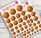 Basketball Stickers Scrapbook Planners Crafts Diary Sports Basket Ball Precut