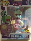 Funko POP! Rides Invader Zim - Zim & GIR on the Pig #41 HOT TOPIC EXCLUSIVE