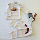 Crazy 8 NWT Cheeky Monkey BUNDLE with Shirt Pants 3 pair Socks for Boys 6 12M