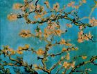 VAN GOGHS ALMOND BLOSSOMS Stained Glass Panel Suncatcher by Glassmasters