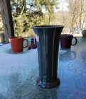 VASE slate grey gray HOMER LAUGHLIN FIESTA 8