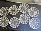 Vintage Set 8 cut glass hors d'oeuvres/ dessert/ Ice Cream dishes- 5