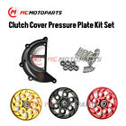 CNC Pressure Plate & Clutch Cover Set For Ducati 1098 1198 R S Hypermotard 1100