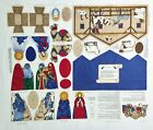 Nativity Scene Fabric Cut Sew Panel VIP Cranston Keepsake Christmas Manger 9 pc