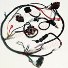 Full Electrics Wiring Harness CDI Coil Solenoid GY6 150cc ATV Quad Buggy Go kart