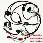 Complete Electrics Wiring Harness Magneto Stator for GY6 125cc 150cc ATV Quad