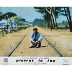 PIERROT LE FOU Lobby Card 95x12 in N10 1965 Jean Luc Godard Jean Paul Be