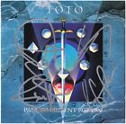 TOTO Past to Present, STEVE LUKATHER David Paich +2 Africa 4 IV Autograph SIGNED