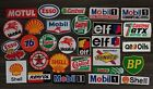 Logo Gas Motor OIL Racing Car Motorcycles Bike embroidered patch  Iron or Sew on