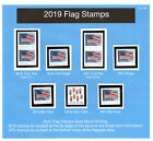 2019 US Flags Complete Set Clear Perfs No Corners  Ready to Mount MNH Pg26A