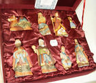 De Brekht Nostalgic Nativity Wood Carved Set of 8 52611 2009